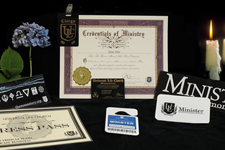 Ordination Package with Ordination Certificate