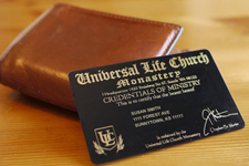 Universal Life Church - Wallet Card
