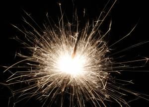 Glowing Sparkler Firework