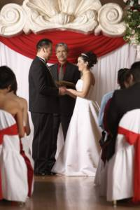 Holiday Wedding Ceremony