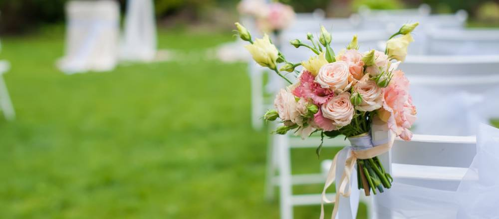 A backyard wedding can be way more cost effective than the bloated, chapel-centered counterparts.