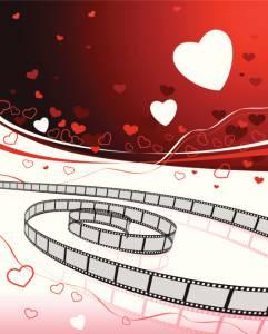 Film strip with heart motif Canada