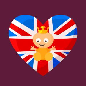 Royal baby in line for Succession against the union jack