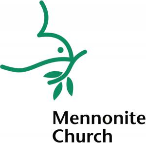 Mennonite Church Logo with dove
