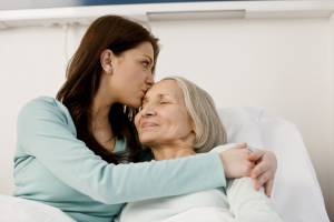 Dealing with a parent suffering from  Alzheimer's can be extremely stressful.