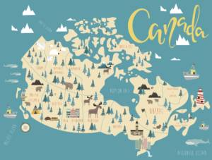 There are plenty of places around Canada to spend your honeymoon.