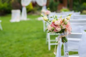 A backyard wedding can be way more cost effective than the bloated chapel-centered counterparts.