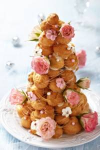 A French Croquembouche can be a delicious alternative to a traditional wedding cake.
