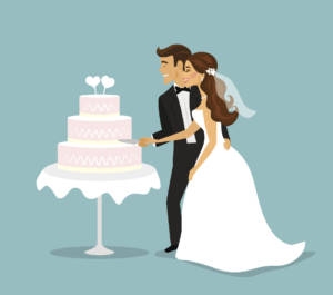 There are a wealth of strange traditions surrounding the cake that you might be interested in including at your wedding reception.