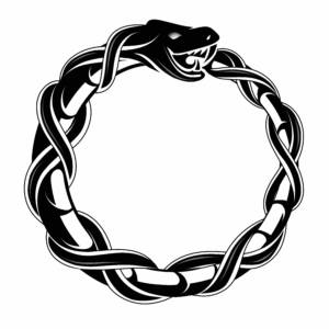 The ouroboros, and ancient symbol, has endured until modern times while powerfully embodying many physical and esoteric concepts.