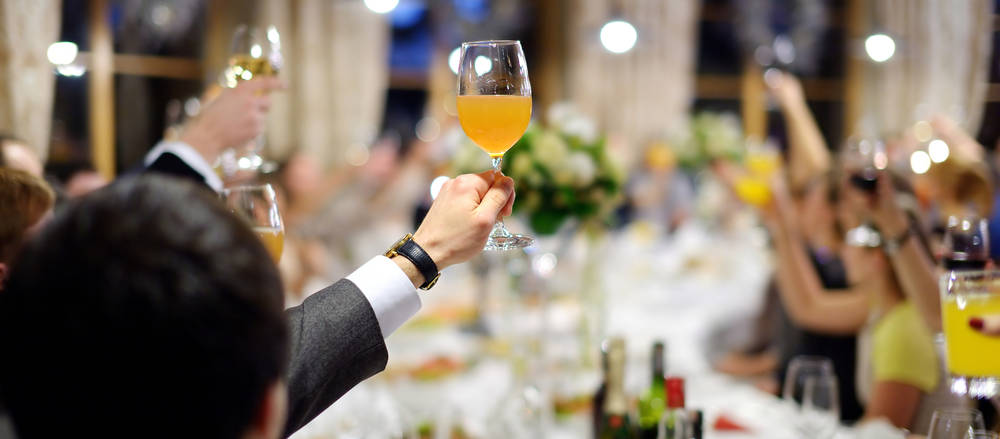 If you're a wedding guest attempting sobriety, it's natural to feel a little anxiety. Some smart advice can help you remain a faithful teetotaler.